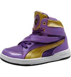 PUMA DJ 6S JR in amaranth purple #PUMA #kids #shoes #PUMAkidsalwaysplay