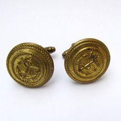 brass button vintage - Google Search