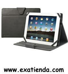 """Ya disponible Soporte tablet NGS codex plus 10.1"""" 3 inclination levels   (por sólo 21.99 € IVA incluído):   - Funda para tabletas de 10"""", fabricada en materiales altamente resistentes con suave revestimiento interior. Consta de 3 niveles de inclinación para utilizarla como soporte. Ideal para iPad, Galaxy Tab 10.1"""", etc. - Contenido del embalaje: Funda de transporte Guía de instalación Tarjeta de garantía  -P/N: CODEXPLUS Garantía de 24 meses.  http://www.exabyteinfo"""