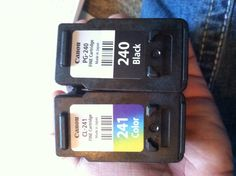 The ink for my printer/copier/scanner. Canon Pixma MG2120