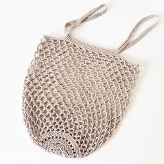 Ravelry: Rustic Market Bag by Camilla N. Skjoenhaug Ravelry: Rustic Market Bag by Camilla N. Crochet Bowl, Crochet Shell Stitch, Filet Crochet, Bead Crochet, Crochet Accessories, Fashion Accessories, Camilla, Crochet Market Bag, Easy Crochet Projects