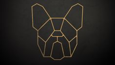 Vörr is a new Brazilian clothing company that will operate online selling a variety pf high quality products and use top of the line e-commerce backend structure. We were hired to develop their logo, brand identity, and packaging material. French Bulldog Tattoo, French Bulldog Art, Graph Design, Logo Design, Blackwork Patterns, Arte Country, Metal Art Projects, Tape Art, Desenho Tattoo