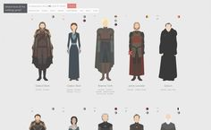 Where have all the wildlings gone? is a site designed by someone who's obsessed with Game of Thrones made this flat design website that's as entertaining as it is quirky. Winter Is Here, Winter Is Coming, Dark Words, Eddard Stark, M&m Game, Design Creation, Best Web Design, Flat Design, Ui Design