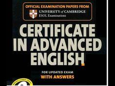 CAE exam or C1 exam (ESOL) listening test 4.1p2 with answer keys