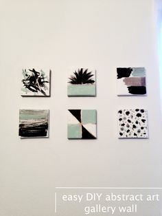 easy-DIY-abstract-art-gallery-wall