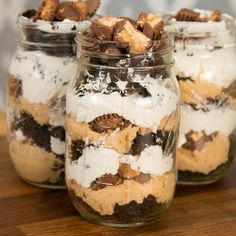Seriously you guys, cakes in jars are the best. So how do you take the best and make it even better? You add a...