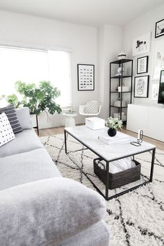 black and white living room http://www.homeyohmy.com/coffee-table-styling/?utm_content=buffer27bc2&utm_medium=social&utm_source=pinterest.com&utm_campaign=buffer#comments