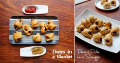 dates in a blanket