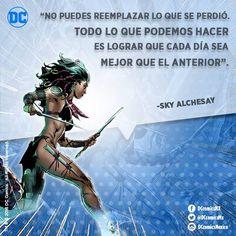 """""""No puedes reemplazar lo que se perdió. Todo lo que podemos hacer es lograr que cada día sea mejor que el anterior"""". -Sky Alchesay"""