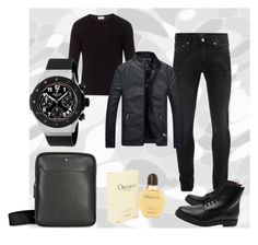 """""""Black men"""" by melani-fashion ❤ liked on Polyvore featuring American Vintage, Alexander McQueen, Common Projects, men's fashion and menswear"""