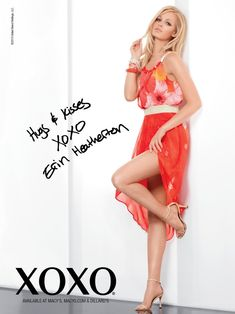 Erin Heatherton Gets Glam for XOXOs Spring 2013 Campaign | Fashion Gone Rogue: The Latest in Editorials and Campaigns