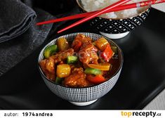 V kuchyni vždy otevřeno . Sweet Sour Chicken, Main Meals, Side Dishes, Pork, Food And Drink, Treats, Dinner, Ethnic Recipes, Vietnam