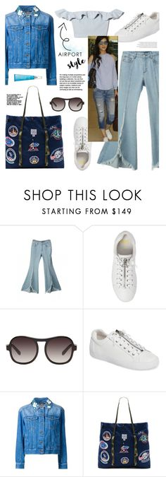 """""""Airport Style!"""" by joliedy ❤ liked on Polyvore featuring Ash, Muveil, Epperson Mountaineering, FLORIAN, Issey Miyake and Balenciaga"""