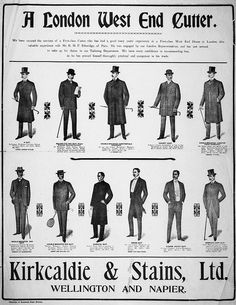 Kirkcaldie & Stains Ltd. :A London West End cutter. 1903.  by National Library NZ on The Commons, via Flickr