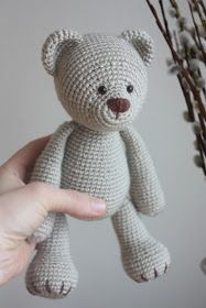 Amigurumi creations by Laura: New Teddy Bear PDF Pattern
