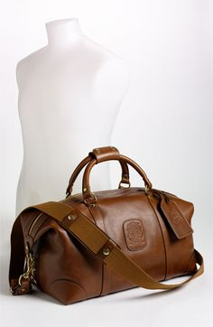 Men's Ghurka 'Cavalier II' Travel Duffel Bag