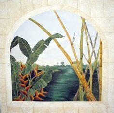 5x5' Outdoor Canvas by http://www.JenniferMatthewsArt.com
