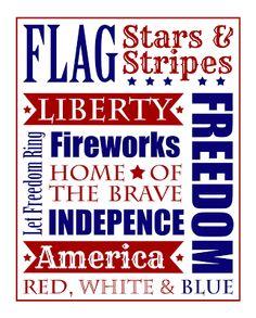 Patriotic Printable