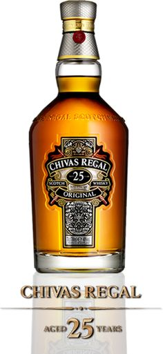 Chivas 25: Chivas Regal is the product of a unique place, a proud lineage of whisky makers, and more than two centuries' of history.
