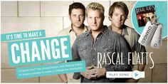 Win a Origami Owl Rascal Flatts Changed Charm and new music single Download.