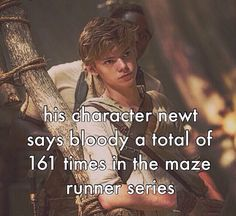 Newt / Thomas Sangster : Fact