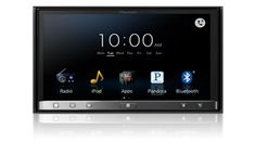 "AppRadio 3 (SPH-DA210) - NEW! - In-Dash iPhone® and Android™ Compatible Car Receiver with 7"" Capacitive Multi-Touchscreen, DVD/CD Player, Bluetooth®, MirrorLink™, and On-Screen Access to Compatible Apps 