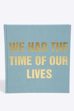 Urban Outfitters Time Of Our Lives Photo Album Turquoise