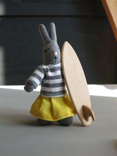 Let's go surf ! jouets bois, jouets écologiques, doudou coton bio