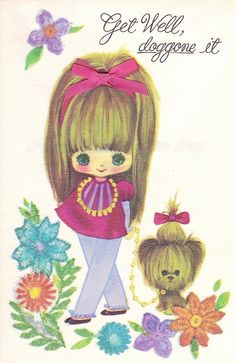1960s Get Well Card by hmdavid, via Flickr