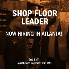 We have a shift opportunity in Atlanta, GA! Mechanic Jobs, Leadership Roles, Diesel, Opportunity, Atlanta, Trucks, Diesel Fuel, Truck