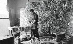 Jean Paul Riopelle. Follow the biggest painting board on Pinterest: www.pinterest.com/atelierbeauvoir