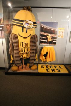 The Senator John Heinz History Center has an entire floor dedicated to Pittsburgh sports history.