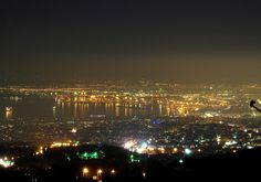 This view explains a lot about the name of Panorama Town. (Walking Thessaloniki, Route 22 - Panorama)