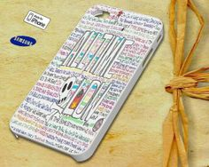 All Time Low Lyric Case for iPhone 4 4S iPhone 5 5S by NauraDesign, $13.50