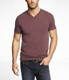 Any color in this v-neck from Express (level 2) is sure to make his Christmas brighter.