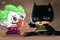 Chuan's Space: Baby Batman n Joker