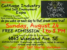UP NEXT...DO YOU WAKE UP EACH DAY TO YOUR DREAM COME TRUE??? If you are still just living for work and working to pay the boss's bills this FREE to ATTEND meet and greet is worth your interest...your opportunity to explore the power of you working hard for you your way and with success! Workshops, viable opportunities, ways and means to get ahead all under one local focus roof. You'll never know if you don't go...