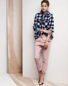 Camisa Xadrez + Camisa Jeans
