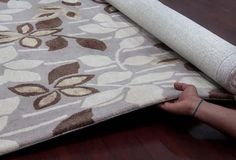Bloom - Ivory For more info Visit us:http://www.therealrugcompany.co.uk/ #Home #InteriorDesign #RealRug