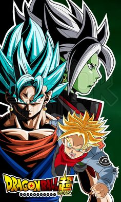 Zamasu Vegito and Trunks DBS