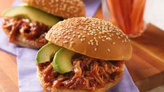 Put a spicy spin on pulled pork by stirring in chili powder and chipotle chilies in adobo sauce.