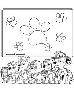 Chase PAW Patrol coloring page  Coloring pages  color sheets