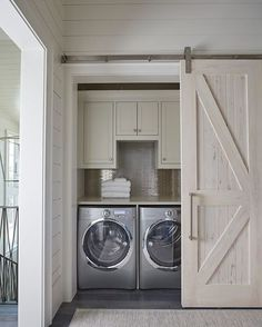 #Closet #Laundryroom never looked so good! Design by #geoffchickandassociates.