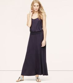 Thumbnail Image of Primary Image of LOFT Beach Tank Maxi Dress