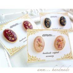 ハンドメイドマーケット+minne(ミンネ)|+autumn+flower*+botanical