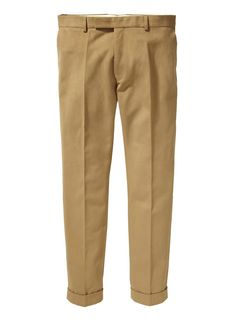 R. DRILL SMARTY PANTS | CHINOS