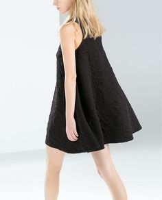 JACQUARD FLARED DRESS-Dresses-TRF-SALE | ZARA United States