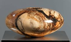 DBG-Spalted Aspen Burl 333 | From a unique collection of abstract sculptures at https://www.1stdibs.com/art/sculptures/abstract-sculptures/