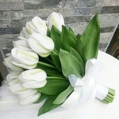 Our artificial bridal bouquet with tulips is available in limited quantities. Tulip Bouquet Wedding, White Tulip Bouquet, White Tulips, Tulips Flowers, Bride Bouquets, Bridal Flowers, Greenery Bouquets, Bouquet Flowers, Spring Wedding