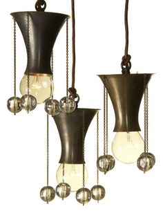 josef hoffmann chandelier